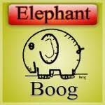 elephant by robert boog